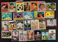 Autographs:Sports Cards, Baseball Greats Signed Card Collection Lot Of 26....