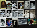 Autographs:Post Cards, Baseball Greats Signed Postcards Lot Of 30....