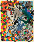 Prints:Contemporary, FRANK STELLA (American, b. 1936). A Bower in the Arsacides(from the Moby Dick Deckle Edges series), 1993. Etching, ...