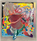 Prints:Contemporary, FRANK STELLA (American, b. 1936). Feneralia (from theImaginary Places series), 1995. Screenprint in colors,lithogr...