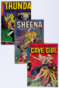 Golden Age Jungle Adventure Related Group (Various Publishers, 1952-54) Condition: Average VG.... (Total: 14 Comic Books...