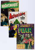 Golden Age (1938-1955):Horror, Golden Age Pre-Code Horror Comics Group (Various Publishers,1952-54) Condition: Average VG-.... (Total: 6 Comic Books)