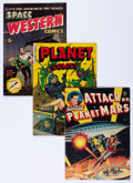 Golden Age (1938-1955):Science Fiction, Golden Age Sci-Fi Comics Group (Various Publishers, 1951-53)....(Total: 5 Comic Books)