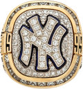 Baseball Collectibles:Others, 1999 New York Yankees World Series Championship Ring....