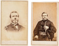 Photography:CDVs, Union Major General George Henry Thomas Pair of Cartes de Visite.... (Total: 3 )