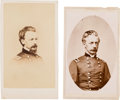 Photography:CDVs, Union Major General Henry Warner Slocum Pair of Cartes deVisite.... (Total: 2 )