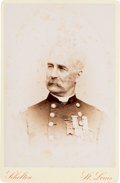 Photography:Cabinet Photos, Union Brevet Major General Edward Hatch Signed Cabinet CardPhotograph....