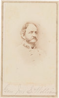 Photography:CDVs, Confederate Brigadier General John Stuart Williams Carte de Visite....