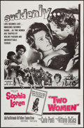 "Movie Posters:Foreign, Two Women & Other Lot (Embassy, 1960). One Sheets (2) (27"" X 41""). Foreign.. ... (Total: 2 Items)"