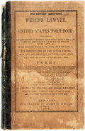 Books:Business & Economics, John C. Wells. WELLS'S LAWYER, AND UNITED STATES FORM-BOOK;CONTAINING A LIST OF PROPERTY EXEMPT FROM EXECUTION; LIEN LA...