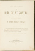 Books:Social Sciences, [E. Jaccard Jewelry Company]. Art Stationary and Bits ofEtiquette by Stationary Department of the E. Jaccard JewelryCo...