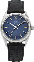 Timepieces:Wristwatch, Rolex Ref. 1002 Vintage Steel Oyster Perpetual Air King, circa1977. ...