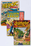 Golden Age (1938-1955):Miscellaneous, Golden Age Miscellaneous Comics Group (Various Publishers, 1940s-50s) Condition: Average PR.... (Total: 5 Comic Books)