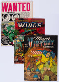 Golden Age (1938-1955):Miscellaneous, Golden Age Miscellaneous Comics Group (Various Publishers, 1940s-50s) Condition: Average GD.... (Total: 7 Comic Books)