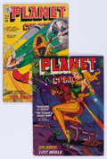 Golden Age (1938-1955):Science Fiction, Planet Comics #61 and 66 Group (Fiction House, 1949-52). Condition:Average GD.... (Total: 2 Comic Books)