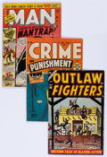 Golden Age (1938-1955):Miscellaneous, Golden Age Miscellaneous Comics Group (Various Publishers, 1940s-50s) Condition: Average VG.... (Total: 7 Comic Books)