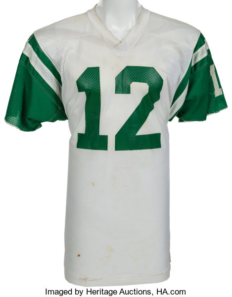 outlet store 67c3b 5c850 1973-75 Joe Namath Game Worn New York Jets Jersey, MEARS A10 ...