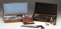 Civil War Surgeon's 24-Piece Instrument Set. This is a fascinating set of Civil War surgeon's tools with 10 of the 24 to...