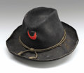 Military & Patriotic:Civil War, Union Eleventh Corps Slouch Hat With A Red Crescent Device. This Union slouch hat is from the Eleventh Corps, First Division...