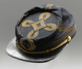 Military & Patriotic:Civil War, New York Officer's Kepi, Chasseur Pattern. This kepi is in excellent condition. Complete with the 'NY' embroidered initials ...