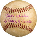 Autographs:Baseballs, 1962 Mickey Mantle & Roger Maris Multi Signed Baseball....