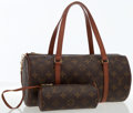 Luxury Accessories:Bags, Louis Vuitton Classic Monogram Canvas Papillon MM Bag with Pouch ....