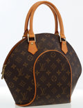 Luxury Accessories:Accessories, Louis Vuitton Classic Monogram Canvas Ellipse PM Bag . ...
