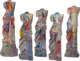 JIM DINE (American, b. 1935) Venus at Sunset, 1983 Carved and painted composite acrylic sculpture in five parts 62 x...