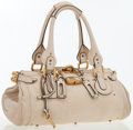 Luxury Accessories:Bags, Chloe Ivory Leather Paddington Shoulder Bag. ...
