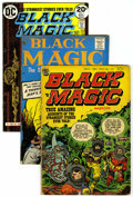 Golden Age (1938-1955):Horror, Black Magic Group (Prize, 1954-61) .... (Total: 4 Comic Books)