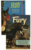 Silver Age (1956-1969):Adventure, Fury File Copies Group (Dell/Gold Key, 1962) Condition: Average NM-.... (Total: 2 Comic Books)