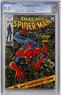 Bronze Age (1970-1979):Superhero, The Amazing Spider-Man #100 (Marvel, 1971) CGC NM- 9.2 Off-white to white pages....
