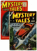 Golden Age (1938-1955):Horror, Mystery Tales #22 and 41 Group (Atlas, 1954-56) .... (Total: 2Comic Books)