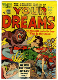 Golden Age (1938-1955):Horror, Strange World of Your Dreams #3 (Prize, 1952) Condition: FN/VF....
