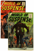 Silver Age (1956-1969):Horror, World of Suspense #2 and 6 Group (Atlas, 1956-57) Condition:Average VG.... (Total: 2 Comic Books)