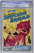 Silver Age (1956-1969):Adventure, The Brave and the Bold #27 Suicide Squad (DC, 1960) CGC FN+ 6.5 Cream to off-white pages....