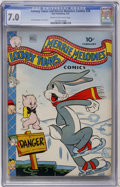 Golden Age (1938-1955):Cartoon Character, Looney Tunes and Merrie Melodies Comics #28 (Dell, 1944) CGC FN/VF7.0 Cream to off-white pages....