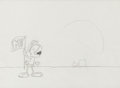 Animation Art:Production Drawing, Marvin the Martian MTV Promo Spot Production Drawing Animation Art(Warner Brothers, 1980)....