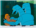 Animation Art:Production Cel, He-Man and the Masters of the Universe He-Man Production Celwith COA Animation Art (Filmation, 1983).... (Total: 3 OriginalArt)