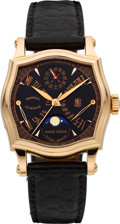 Timepieces:Wristwatch, Roger Dubuis Very Fine Rose Gold Sympathie Bi-Retrograde PerpetualCalendar, Moon Phases, Ref. S37 5772 5, Serial No. 5/28. ...