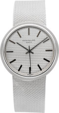 Timepieces:Wristwatch, Patek Philippe Ref. 3563/3 Gent's White Gold Automatic. ...