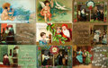 Miscellaneous:Postcards, [Postcards] Group of Twenty-Three Miscellaneous Postcards. Ca.1910. Some used. Some soiling. Generally very good. Fromth...