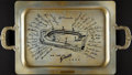 Baseball Collectibles:Others, 1952 New York Giants Metal Serving Tray....