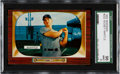Baseball Cards:Singles (1950-1959), 1955 Bowman Mickey Mantle #202 SGC 96 Mint 9 - The Finest SGCExample! ...