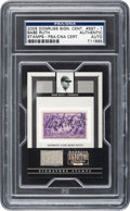 Autographs:Sports Cards, 2005 Donruss Signature Series Babe Ruth Autograph & Game Used Pants Card....