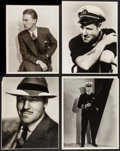 "Movie Posters:Adventure, Jack Holt in Dirigible & Others Lot (Columbia, 1931). PortraitPhotos (12) (10"" X 13"" & 11"" X 14""). Adventure.. ... (Total: 12Items)"