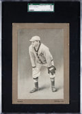 Baseball Cards:Singles (Pre-1930), 1910 H801-7 Old Mill Bowen, Petersburg SGC 20 Fair 1.5 - The Only Graded Example! ...