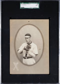 Baseball Cards:Singles (Pre-1930), 1911 T4 Obak Cabinet John Raliegh SGC Authentic - The Only GradedExample! ...