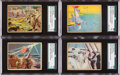 "Non-Sport Cards:Sets, 1941 R157 Gum Inc. ""Uncle Sam"" Low Numbers Complete Set (96). ..."