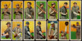 Baseball Cards:Lots, 1909-11 T206 White Borders Tobacco Card Group (14) with HoFers. ...